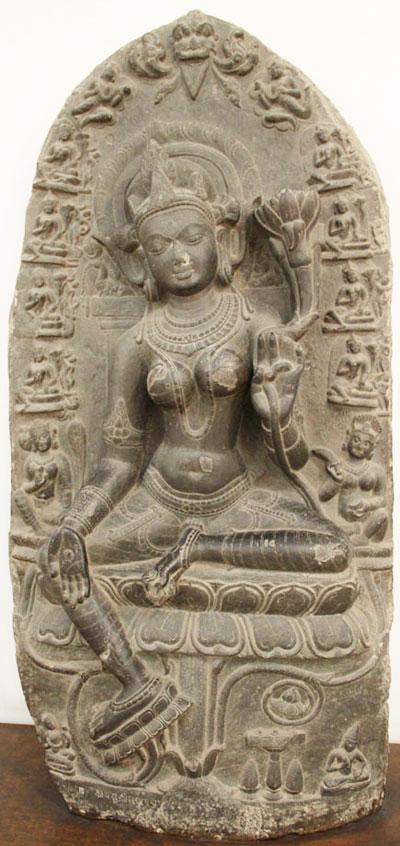 An image of Syama (green) Tara