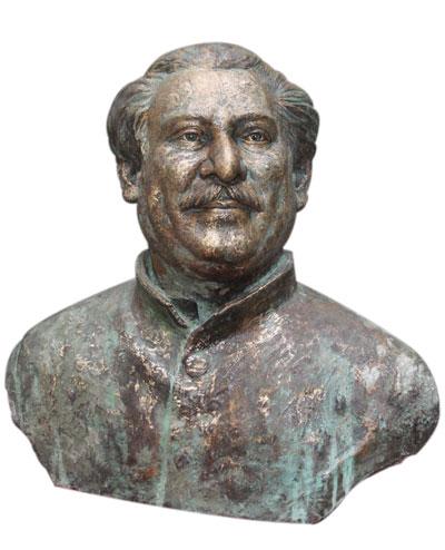 Sculpture of Bangabandhu Sheikh Mujibur Rahman