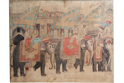 Dhaka Water-color Paintings : 20