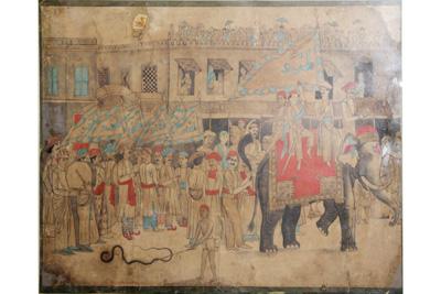 Dhaka Water-color Paintings : 21
